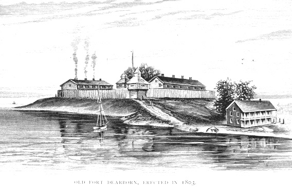 Fort Dearborn in 1803