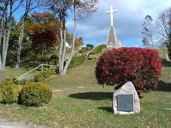 Marquette's first gravesite